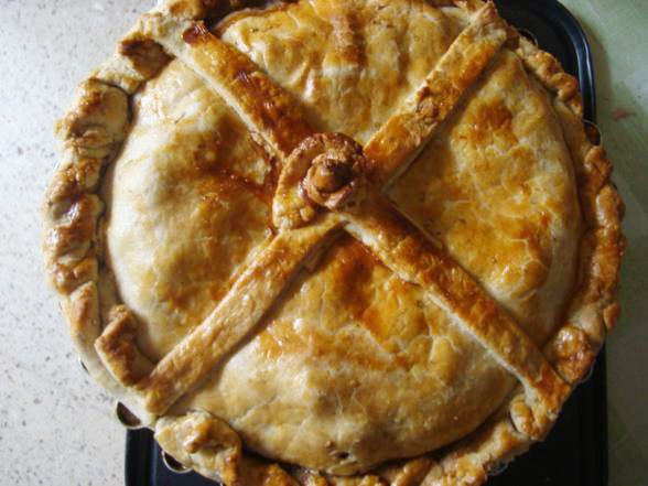 Maltese Recipe - Lampuki Pie