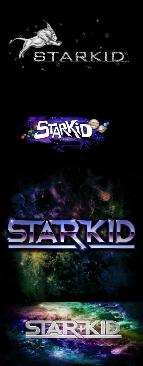 Starkid logo evolution- I personally like the 1st 3, not too sure about the new one