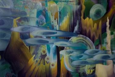 "Saatchi Art Artist April Zanne Johnson; Painting, ""DETAIL from Holometabolism"" #art"