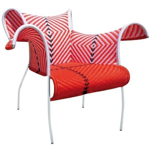 Ibiscus Armchair By Dominique Pétot For Moroso For Indoor And Outdoor ($890) ❤ liked on Polyvore featuring home, outdoors, patio furniture, outdoor furniture sets, pink, moroso, outdoor furniture, outside patio furniture, outdoor patio furniture and outdoors patio furniture