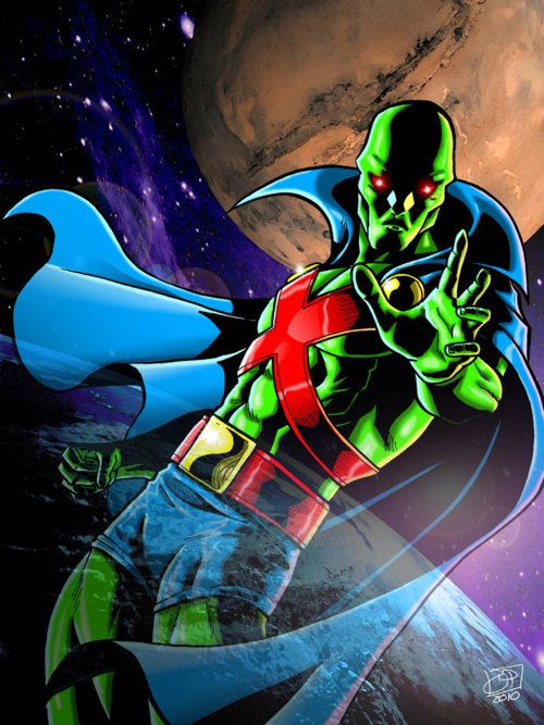 Transparent Martian Manhunter
