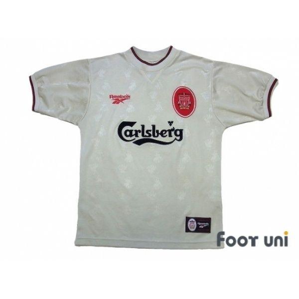 Photo1: Liverpool 1996-1997 Away Shirt REEBOK - Football Shirts,Soccer  Jerseys,