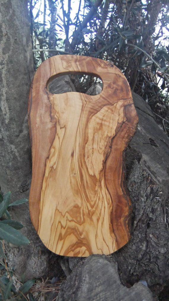 Olive Wood Cutting Board by ellenisworkshop on Etsy, getting this! Wow.