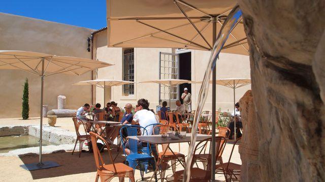 Marseille: le Café Borély, la belle terrasse veggie