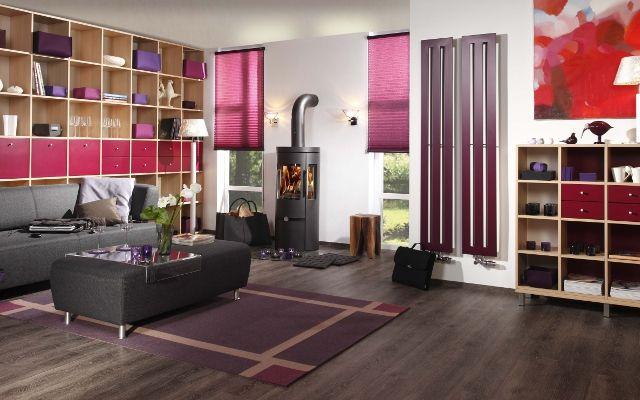 Strakke, vrolijke kastenwand – naar keuze in te delen. Kies u eigen materialen, kleuren en indeling. http://www.comfortinstijl.nl/kastenwand/ #kastenwand #interieur #woonkamer
