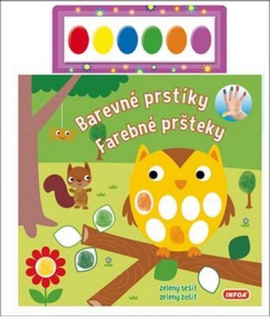 Paperback: Barevné prstíky-zelený sešit (autor neuvedený) | bux.sk