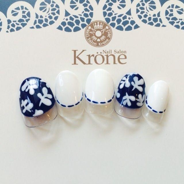krone2014さんのホワイト,ハンド,チップネイル♪[1051188]|ネイルブック