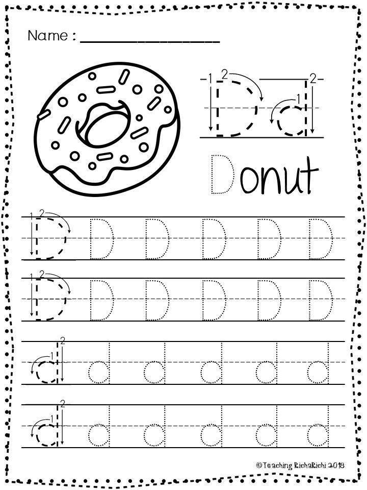 Abc Tracing Worksheets For Kindergarten Free Abc Tracing Worksheets Alphabet A Z Upper And Lower In 2020 Abc Tracing Tracing Worksheets Kindergarten Worksheets