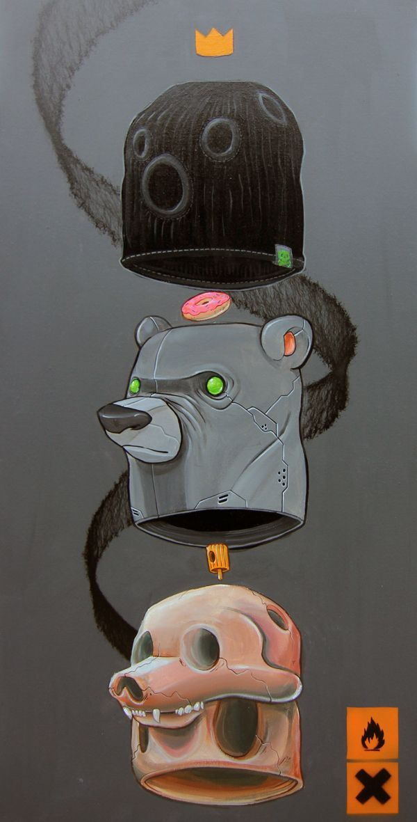 MACHINEMOUTH by Clog Two, via Behance http://www.facebook.com/pages/Creative-Boys-Club/574340755933728?ref=hl