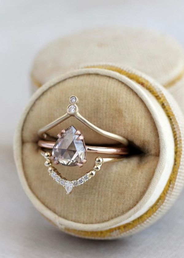 14 Bohemian Engagement Ring Designs For The Wild At Heart