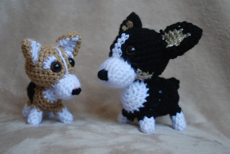 Custom Crocheted Corgis Amigurumi Dog Custom Crochet Dog ...