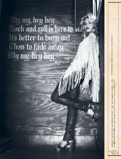 Musically #Bohemian | The Free People July 2011 Lookbook #Hippie
