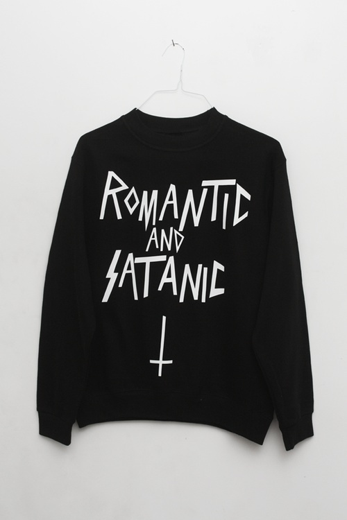 romantic and satanic.