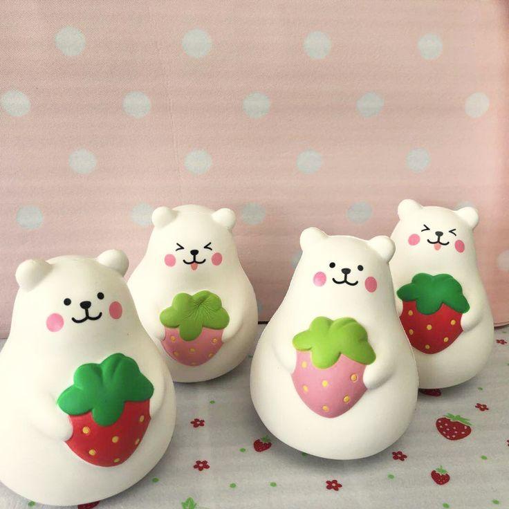 Ibloom licensed Super Jumbo soft marshmallow bear squishy