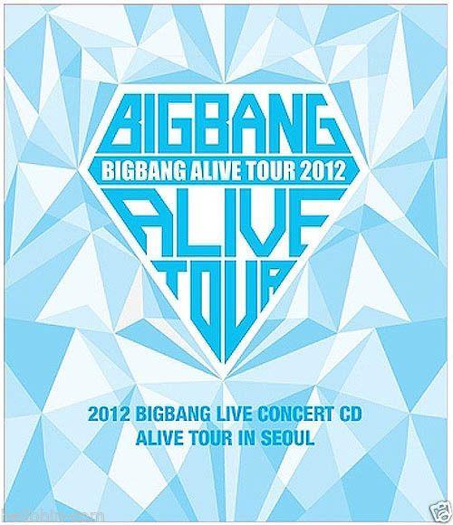 BIGBANG - 2012 BIGBANG Live Concert CD : ALIVE tour in SEOUL [CD+Booklet] + GIFT