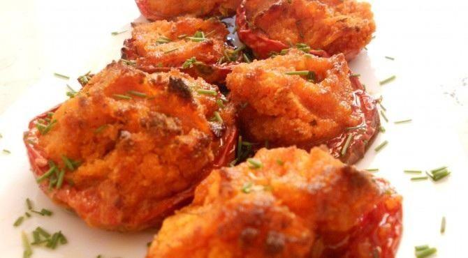 Opentaste - Tomatoes au gratin