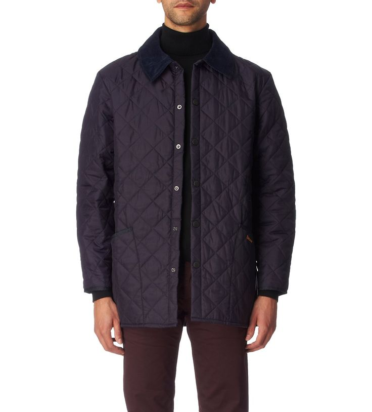 BARBOUR Liddesdale quilted jacket (Navy