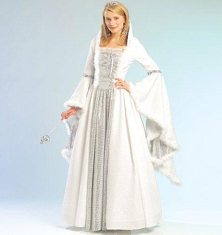 M5731 Printable Pattern Available Misses Children S Girls Princess Costume Printable