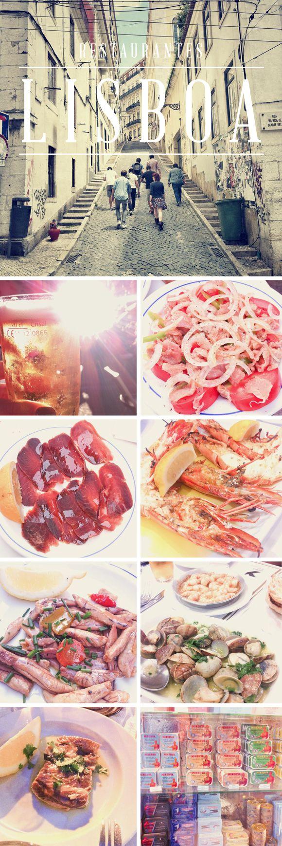 Guia de restaurantes em lisboa - por Olivia Cho