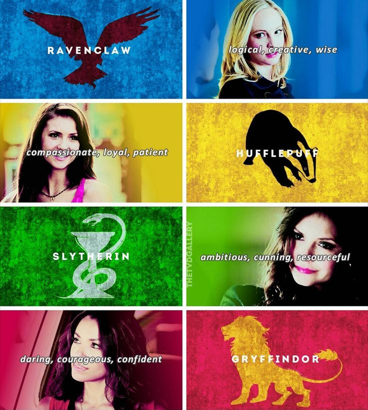 [tvd girls + houses] I've been meaning to make this for ages hope you like it lol ❤ . What's your Hogwarts house? (If you know)