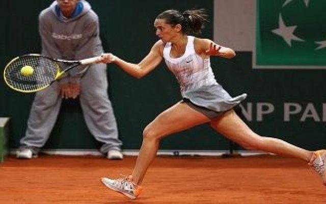 Roberta vinci sconfitta nei quarti di finale del WTA di Oeiras #roberta #vinci #wta #oeiras
