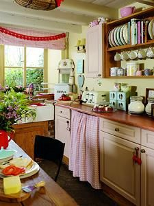 Cheerful kitchen near the North Yorkshire Moors