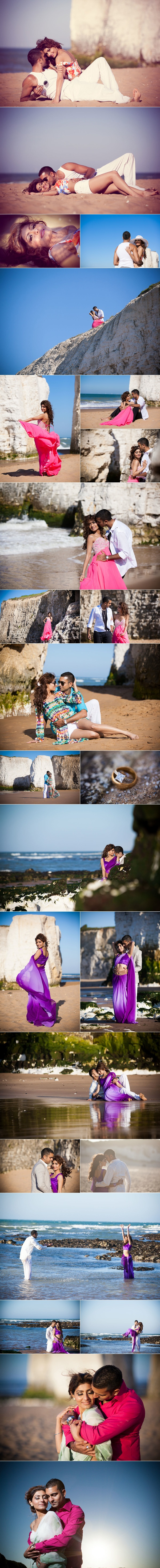 Seductive Pre-Wedding Beach Shoot In Kent