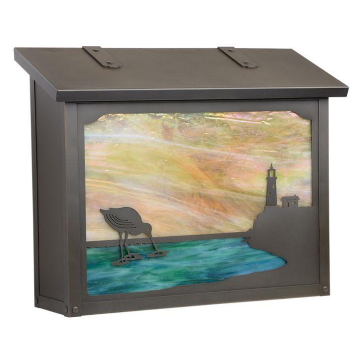 Americas Finest Lighting Shorebird Large Mailbox - AF-1753-NV-GI