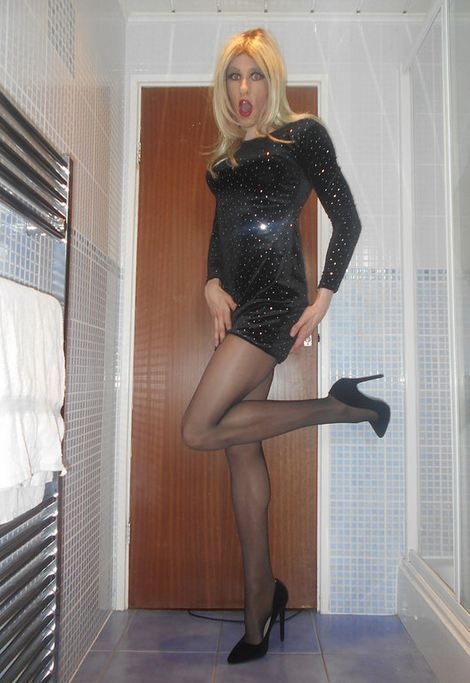 Maryse in Black  Maryse en 2019  Crossdressers Tgirls y