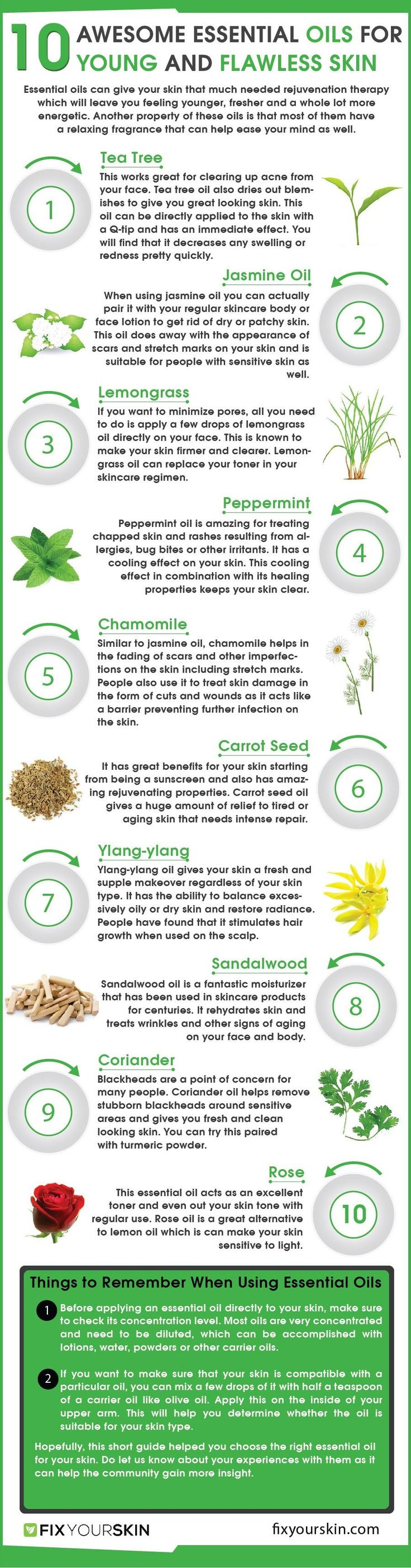 Taking Care Of Your Skin: Essential Oils