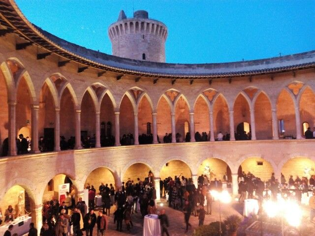 Castillo Bellver evento #Verema www.wineroutesmallorca.com