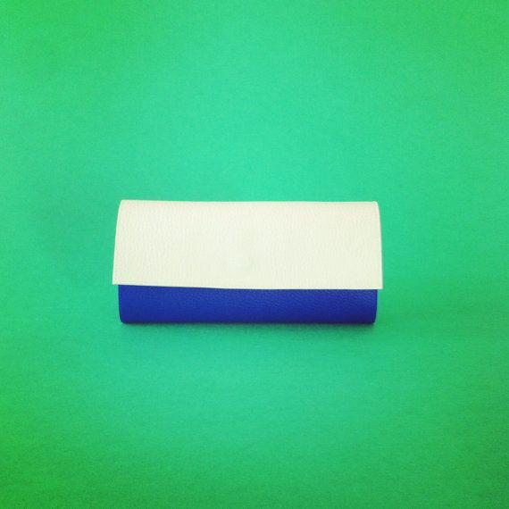 Portafoglio blucobalto portafogli da donna by PittiVintage