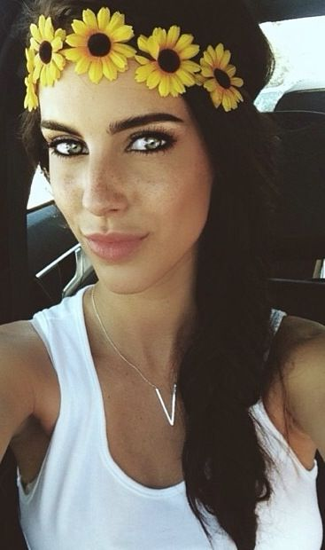 Jessica lowndes. Love her freckles!