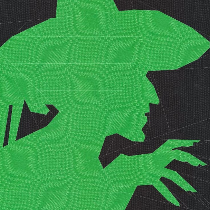 wizard of oz quilt blocks | Wicked Witch of the West (available for testing)