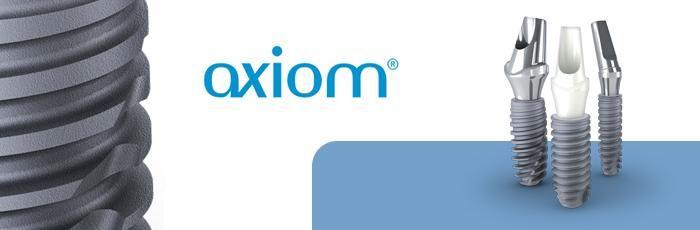 Conceptul Axiom® prezinta toate caracteristicile tehnice care permit conservarea integritatii spatiului biologic peri-implantar si promoveaza un rezultat estetic optim, prin incorporarea semnificativa a unei rezistente biomecanice.