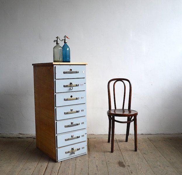 Blue nest of drawers |artKRAFT - Furniture&Design