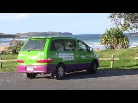 Jucy Crib Campervan Tour (MTV Cribs Style) Jucy Lucy Australia and New Zealand Road Trip. - YouTube