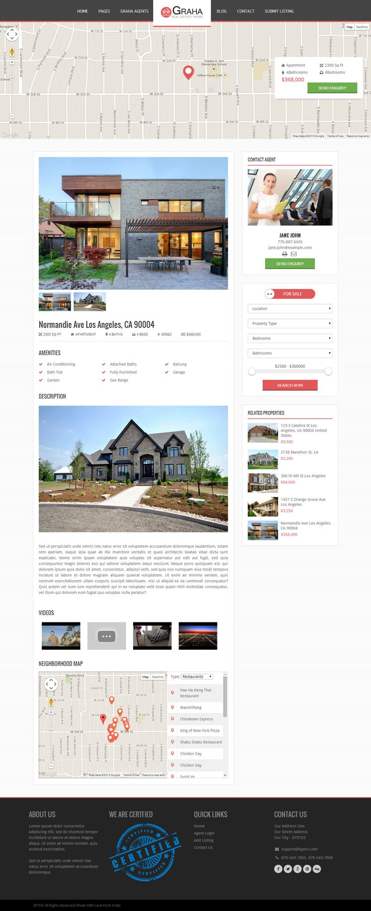 how to put real estate listings wordpress