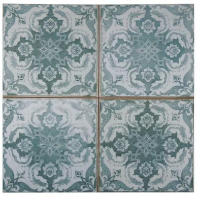 Merola Tile Kings Seagate 17-3/4 in. x 17-3/4 in. Ceramic Floor and Wall Tile (11.3 sq. ft. / case)-FPESGFS3 - The Home Depot