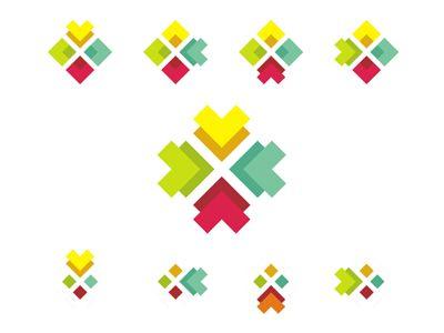 Logo design sub-branding symbols system  by Alex Tass