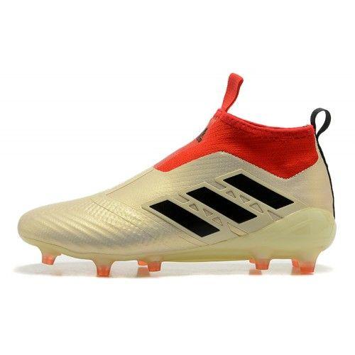 Beste Adidas ACE 17 Purecontrol FG Dragon Gull Rod Fotballsko