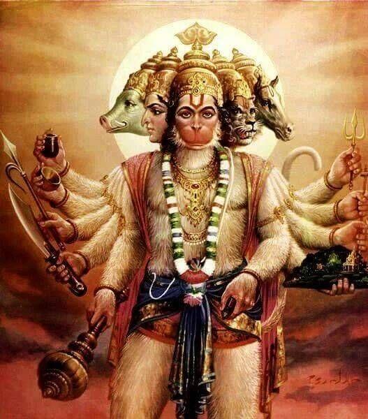 What is the story of Panchamukhi Hanuman