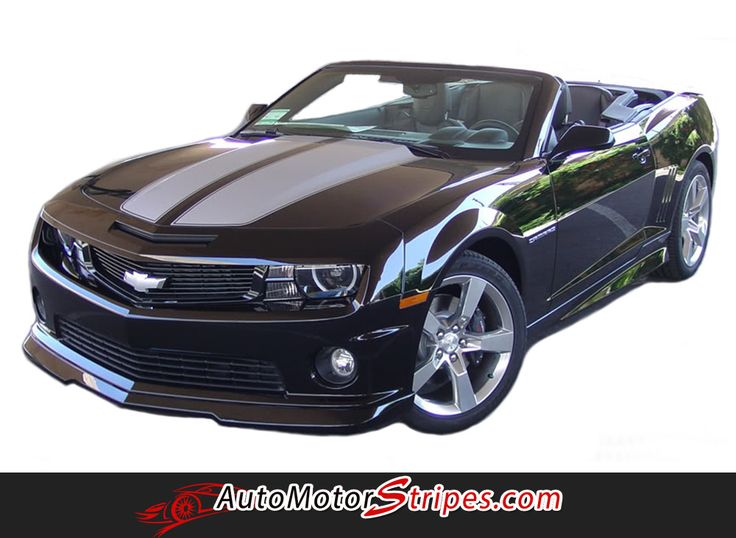 2010 2013 And 2014 2015 Chevy Camaro RS SS R Sport Convertible OEM Factory  Style Rally And Racing Stripes Kit