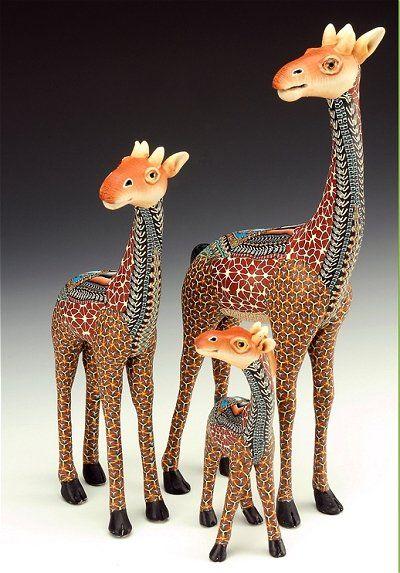 Jon Anderson Fimo Creations Giraffe