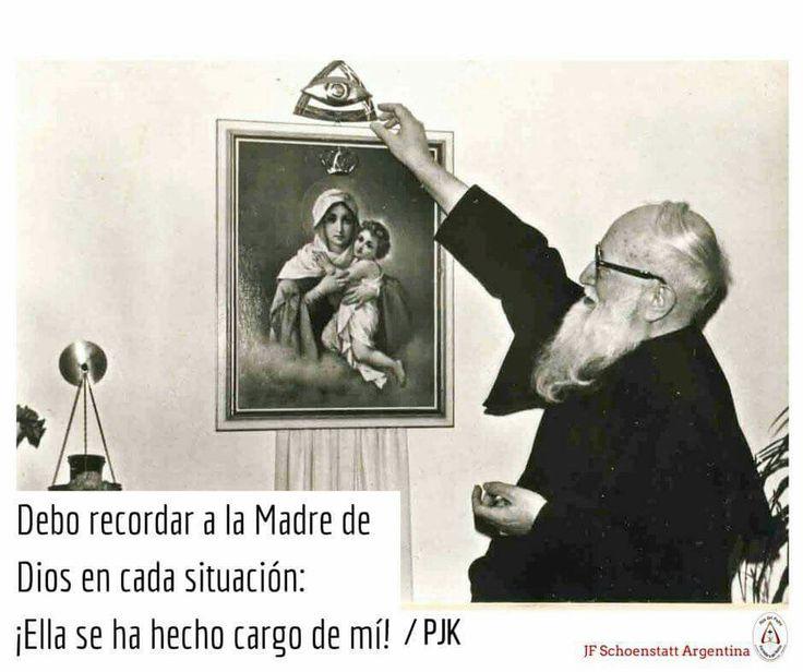 Padre Kentenich y la Mater.