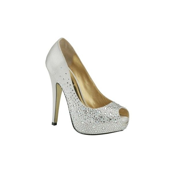 Benjamin Adams Benjamin Adams Salvador Silver Evening Shoes ❤ liked on Polyvore featuring shoes, wedding shoes, silver wedding shoes, benjamin adams, evening shoes and silver bridal shoes