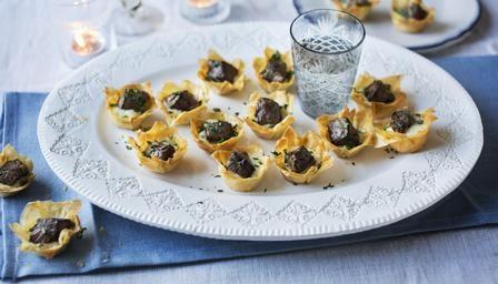 BBC - Food - Recipes : Mini beef Wellington tartlets