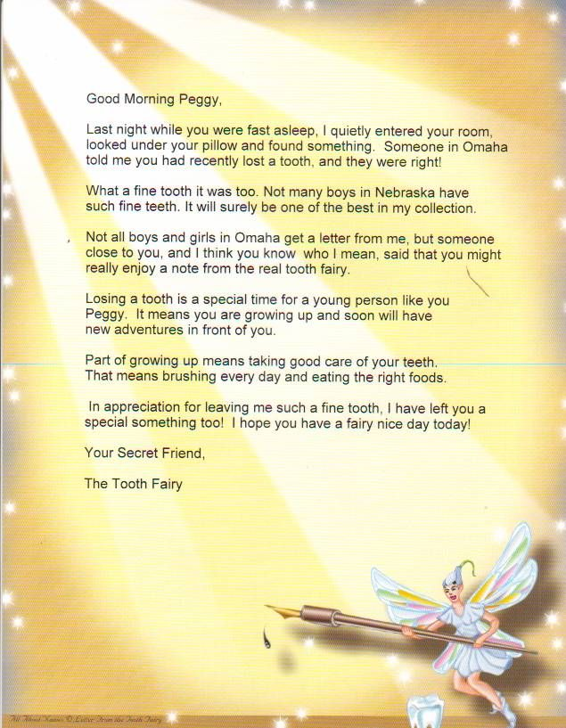 14 best tooth fairy lost tooth cards for kids images on for Fairy letters to child