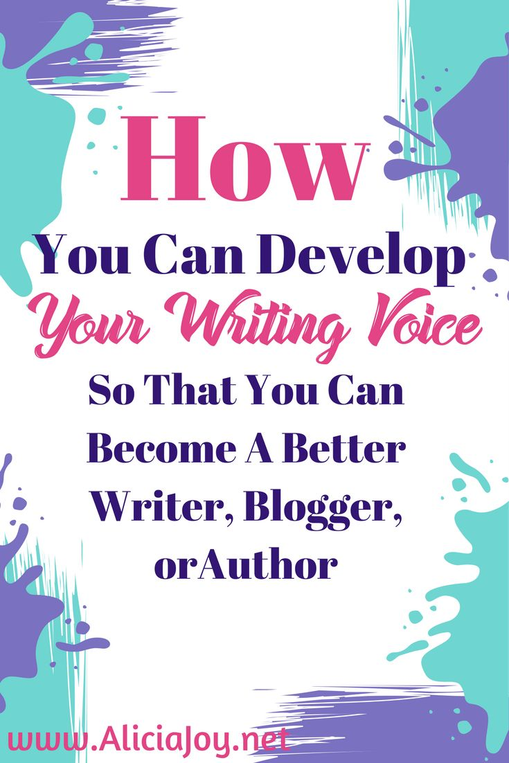 Looking to develop your writing voice? This journal will help you become a better blogger, writer, or author.