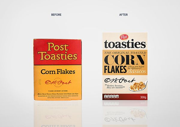 Student: Post Toasties — The Dieline - Branding & Packaging Design